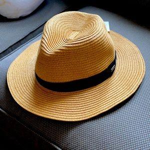 NWT Barts Adjustable Travel Straw Hat